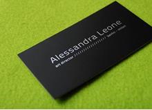 Alessandra Leone Business Cards