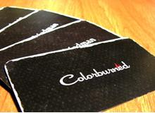 Colorburned Business Cards