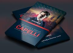 Political Election Business Card via Creative Market