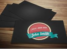 Vintage Business Card via Creative Market