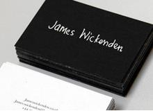 James Wickenden Business Cards