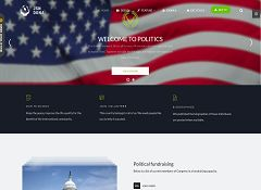 JSNDona Politics Joomla Template by JoomlaShine