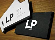 LP Creative Business Cards