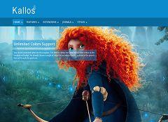 Kallos Joomla Template via MOJO Marketplace