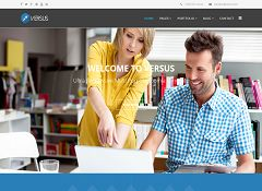 Versus Joomla Template via MOJO Marketplace