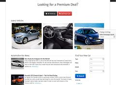 Automotive Ace WordPress Theme via Mojo Themes