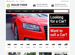Car Dealer WordPress Theme by PremiumPress