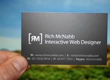Rich McNabb Business Cards