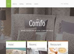 Cozy Vacation Joomla Template by TemplateMonster