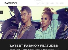 Fashion Joomla Template by TemplateMonster