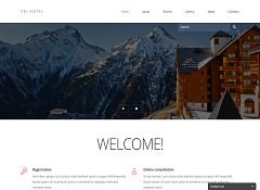 Hotels & Motels Joomla Template by TemplateMonster