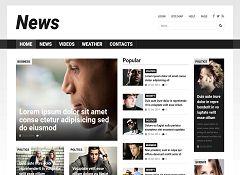 News Portal Joomla Template by TemplateMonster