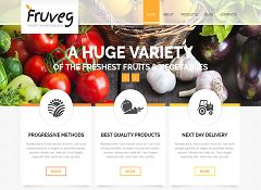 The Best Organic Products Joomla Template by TemplateMonster