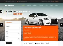 Auto Showroom WordPress Theme via ThemeForest