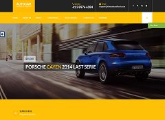 Auto Car WordPress Theme via ThemeForest