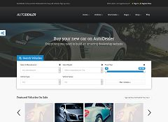 AutoDealer WordPress Theme via ThemeForest