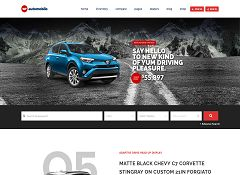 Automobile WordPress Theme via ThemeForest