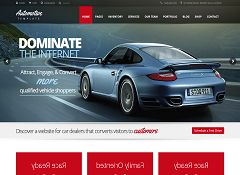 Automotive Car Dealership WordPress Theme via ThemeForest