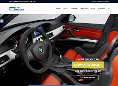 Car Dealer WordPress Theme via ThemeForest