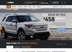 Motors WordPress Theme via ThemeForest