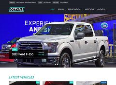 Octane WordPress Theme via ThemeForest