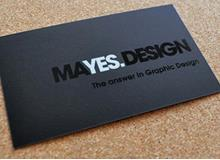 Tom Mayes Business Cards