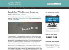 Jemma Genesis Child Theme for WordPress by Aaron Hartland