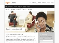 Diligent Genesis Child Theme for WordPress by Claro Themes