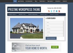 Pristine Genesis Child Theme for WordPress by cre8tive diva