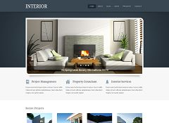 Interior WordPress Theme via CreativeMarket