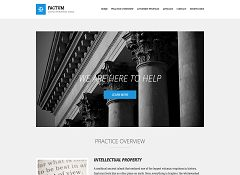 Factum WordPress Theme by cssigniter