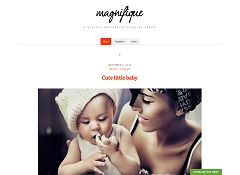 Magnifique WordPress Theme by cssigniter