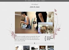 Wedding WordPress Theme by Gabfire Themes