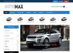 AutoMax Deluxe WordPress Theme by Gorilla Themes