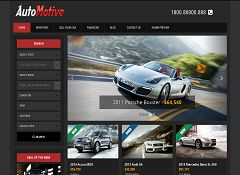 Automotive Deluxe WordPress Theme by Gorilla Themes