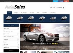 AutoSales Deluxe WordPress Theme by Gorilla Themes