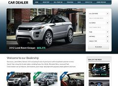 Car Dealer WordPress Theme by Gorilla Themes