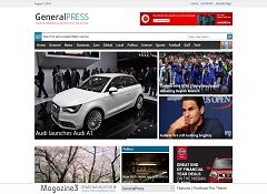 GeneralPress WordPress Theme by Magazine3