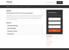 Trestle Genesis Child Theme for WordPress by MightyMinnow