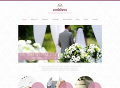 Weddiness WordPress Theme via Mojo Themes