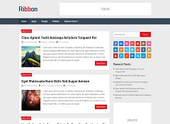 Ribbon WordPress Theme by MyThemeShop