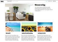 Bigg Genesis Child Theme for WordPress by OpenDesigns