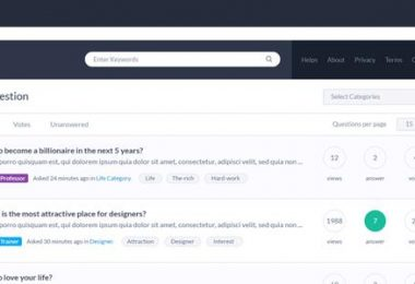 WordPress Themes for Question & Answer Sites