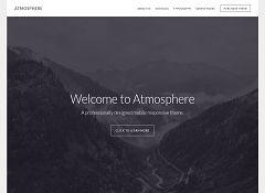 Atmosphere Genesis Child Theme for WordPress by StudioPress