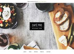 Cafe Pro Genesis Child Theme for WordPress by StudioPress