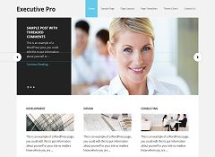 Executive Pro Genesis Child Theme for WordPress by StudioPress