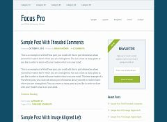 Focus Pro Genesis Child Theme for WordPress by StudioPress