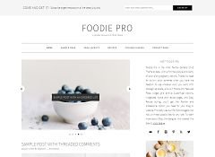 Foodie Pro Genesis Child Theme for WordPress by StudioPress