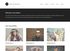 Modern Portfolio Pro Genesis Child Theme for WordPress by StudioPress