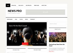 News Pro Genesis Child Theme for WordPress by StudioPress